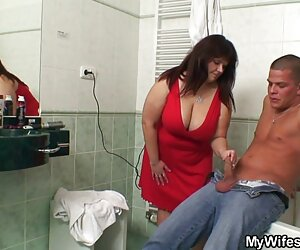 Busty MILF آوی اسکات او را به دانلود فیلم سکس زن باحیوان فاک دعوت می کند